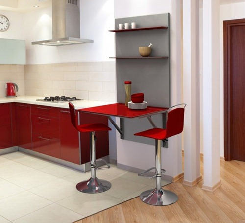Muebles ideales para cocinas peque as interiores for Mini cocinas integrales modernas