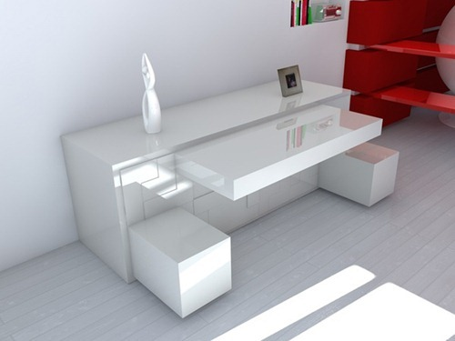 Peque os muebles para soluciones especiales interiores for Muebles inteligentes