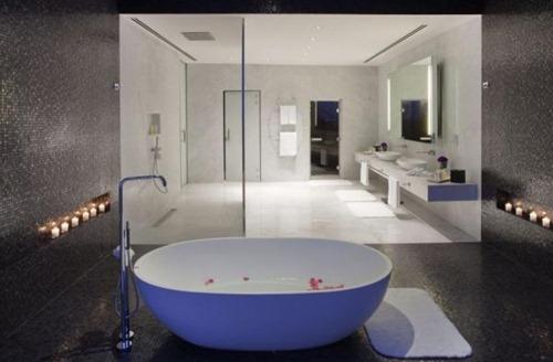 Elegantes dise os de ba os para habitaciones interiores Diseno de una habitacion con bano