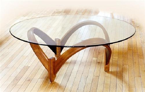 Mesa de Centro con Cristal (4)