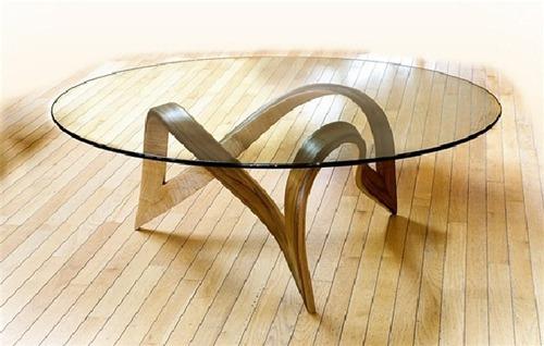 Mesa de Centro con Cristal (5)