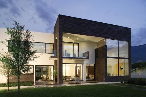 Residencia moderna con un dise o en m xico casa del tec Disenos de casas contemporaneas pequenas