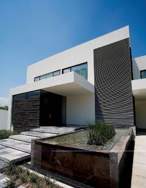 Residencia moderna con un dise o en m xico casa del tec for Casas modernas en mexico