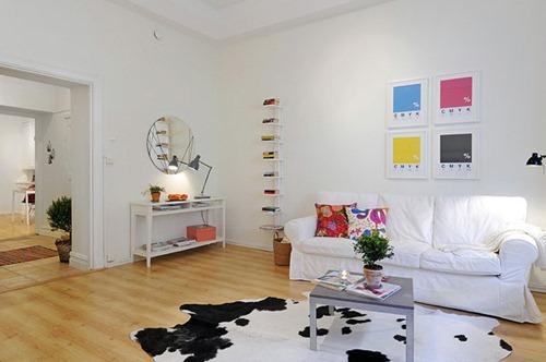 Apartamentos peque os con estilo escandinavo interiores for Diseno interior de apartamentos pequenos