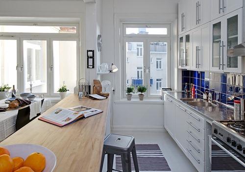 Una cocina abierta al sal n interiores - Cocinas pequenas abiertas al salon ...