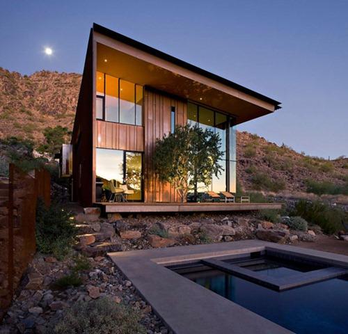 Home Decor 2012 Modern Luxury Homes Beautiful Garden: La Residencia Moderna Jarson En Arizona