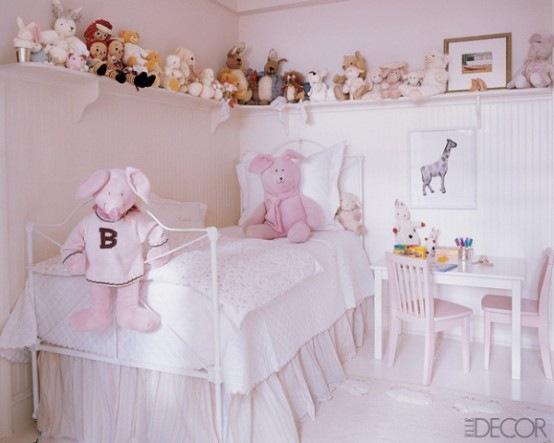 33 grandiosas ideas para decorar el cuarto de las ni as p gina 2 de 6 interiores - Decorar habitacion ninas ...