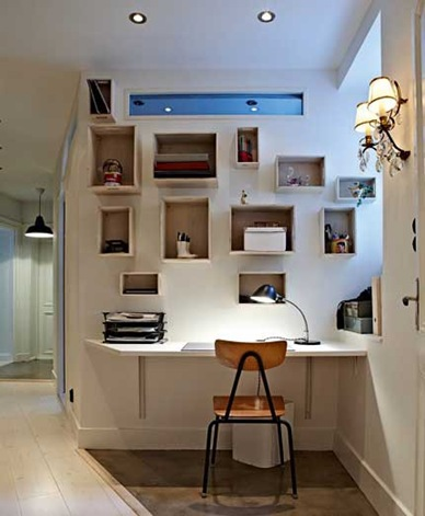 small-hallway-home-office-with-lots-of-storage
