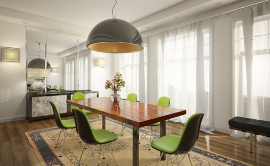5-lime-green-chairs-white-dining-room-665x409