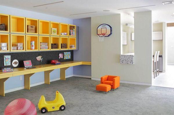 10 increbles ideas para el diseo de una sala de juegos Interiores