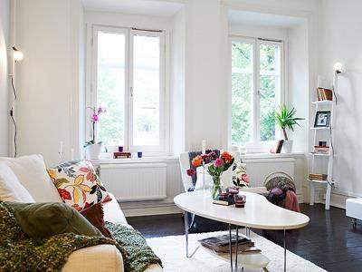 Decorando tu hogar con pisos oscuros como una alternativa for Decorando mi sala