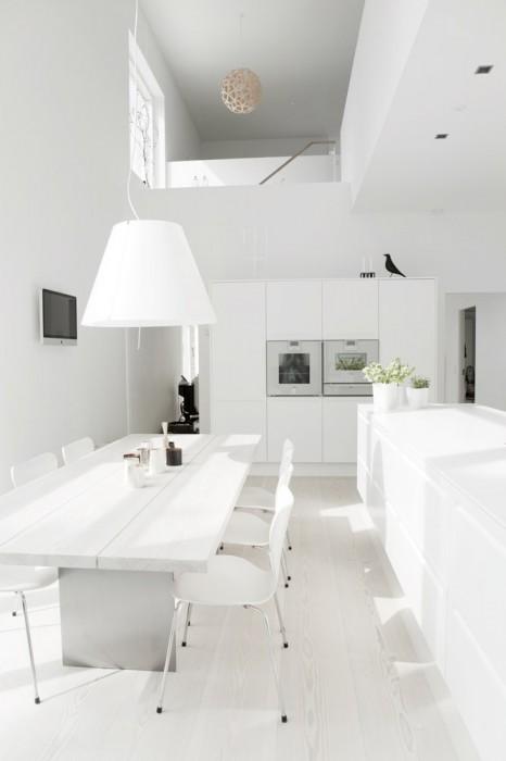 Hermosa casa con estilo nordico moderno interiores - Nordicos modernos ...