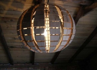 Wood-Chandelier-
