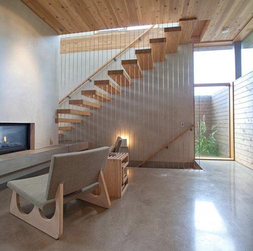 Mda madera de arquitecto butler residence in portland for Modern house portland