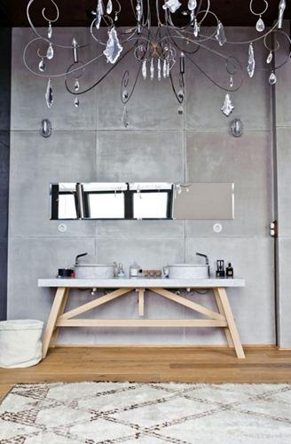 madera en el baño 01