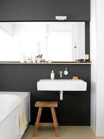 madera en el baño 08