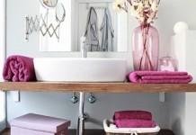 madera en el baño 10