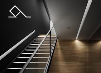 Escalera-techo-hilera-luz-tecnico