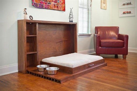 Muebles funcionales cama para mascotas ideal para peque os espacios interiores - Muebles funcionales para espacios reducidos ...