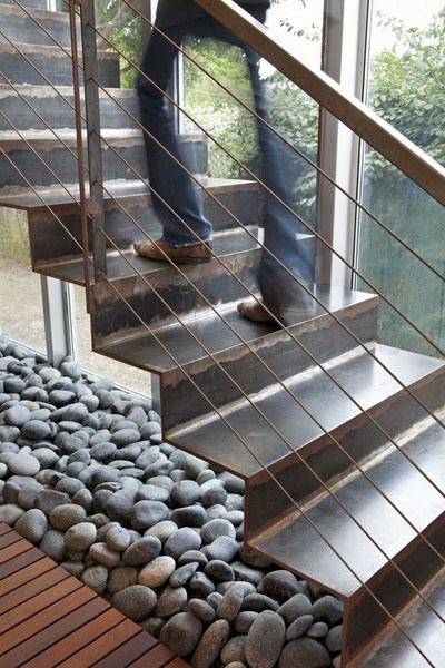 Stairs-and-rocks-underneath