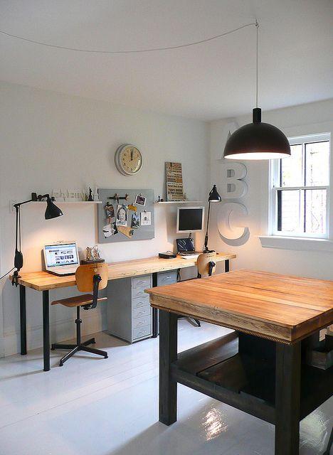area de trabajo en casa