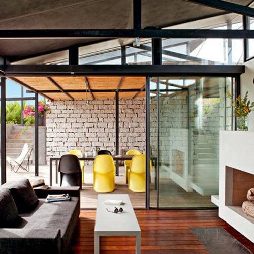 casa de verano entre c rcega y cerde a interiores. Black Bedroom Furniture Sets. Home Design Ideas