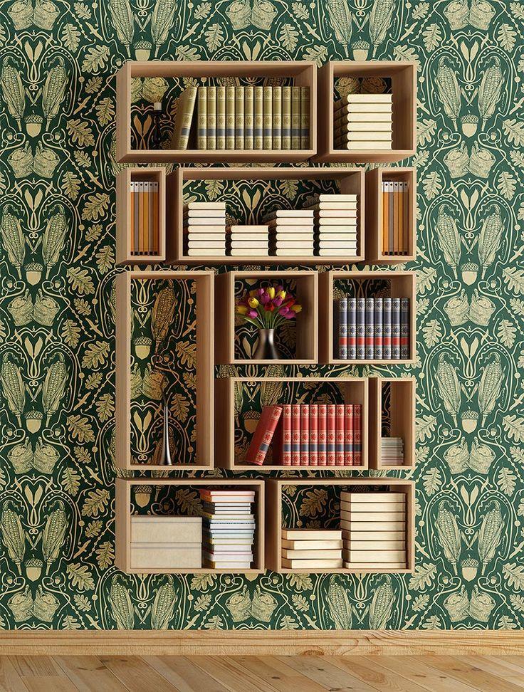 12 estanterías de lujo by interiores 10