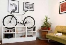 mueble para guarda bicicleta espacio reducido