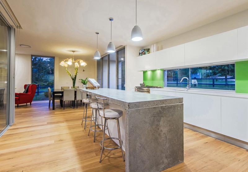 cocina de concreto 10