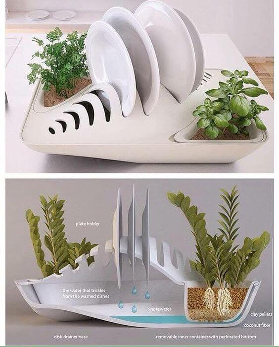 Home Design Ecological Ideas: 12 Ideas De Escurridores De Platos Modernos Y Funcionales
