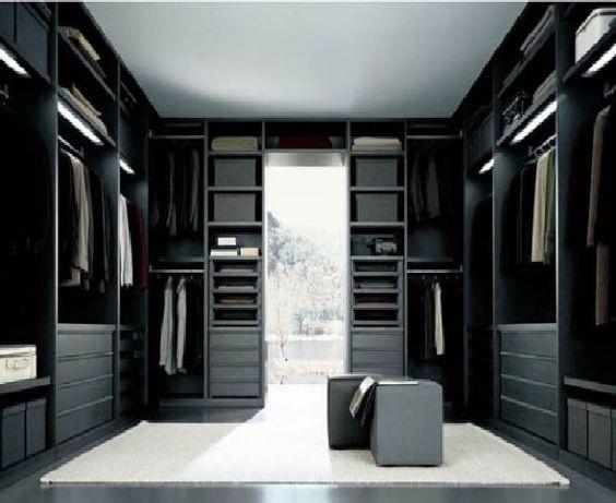 20 walk in closet para gente con estilo 15 interiores - Interiores con estilo ...