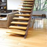 21 ideas escaleras de madera 11