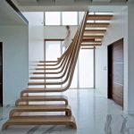 21 ideas escaleras de madera 12