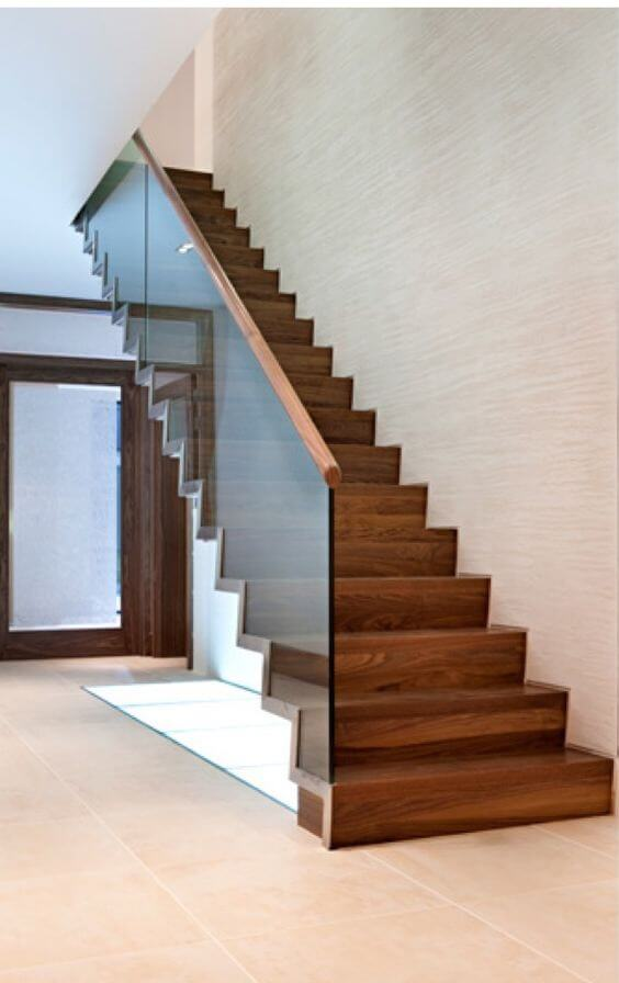21 ideas escaleras de madera 14 interiores for Ideas de escaleras