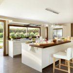 25 Diseños de Cocinas Abiertas ideales para tu hogar 01