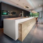 25 Diseños de Cocinas Abiertas ideales para tu hogar 18