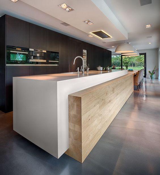 25 dise os de cocinas abiertas ideales para tu hogar 18 for Disenos cocinas abiertas