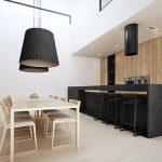 25 Diseños de Cocinas Abiertas ideales para tu hogar 21