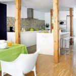 25 Diseños de Cocinas Abiertas ideales para tu hogar 25