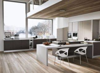 25 Diseños de Cocinas Abiertas ideales para tu hogar 07
