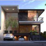 30 fachadas modernas y minimalistas que sin duda destacarían a tu casa de la de tus vecinos 02