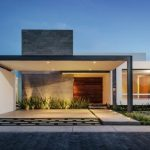 30 fachadas modernas y minimalistas que sin duda destacarían a tu casa de la de tus vecinos 05