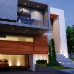 30 fachadas modernas y minimalistas que sin duda destacarían a tu casa de la de tus vecinos 08