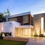 30 fachadas modernas y minimalistas que sin duda destacarían a tu casa de la de tus vecinos 14
