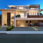 30 fachadas modernas y minimalistas que sin duda destacarían a tu casa de la de tus vecinos 15
