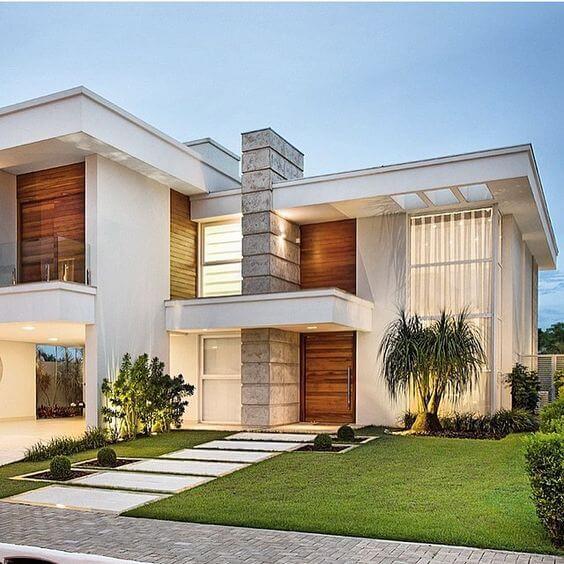 30 fachadas modernas y minimalistas que sin duda for Fachadas de casas ultramodernas