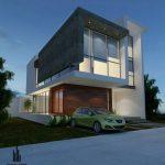 30 fachadas modernas y minimalistas que sin duda destacarían a tu casa de la de tus vecinos 22