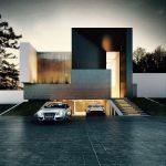 30 fachadas modernas y minimalistas que sin duda destacarían a tu casa de la de tus vecinos 26