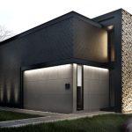 30 fachadas modernas y minimalistas que sin duda destacarían a tu casa de la de tus vecinos 27