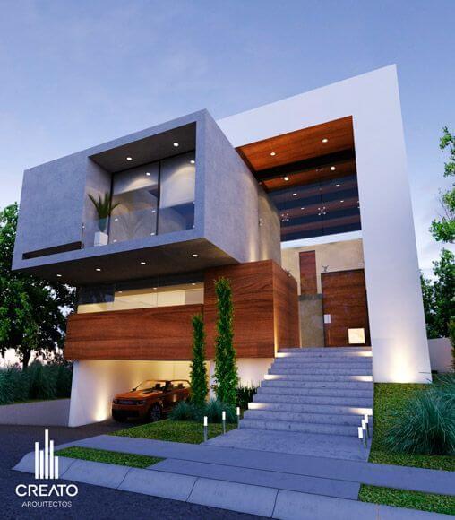 50 Stunning Modern Home Exterior Designs That Have Awesome: 30 Fachadas Modernas Y Minimalistas Que Sin Duda